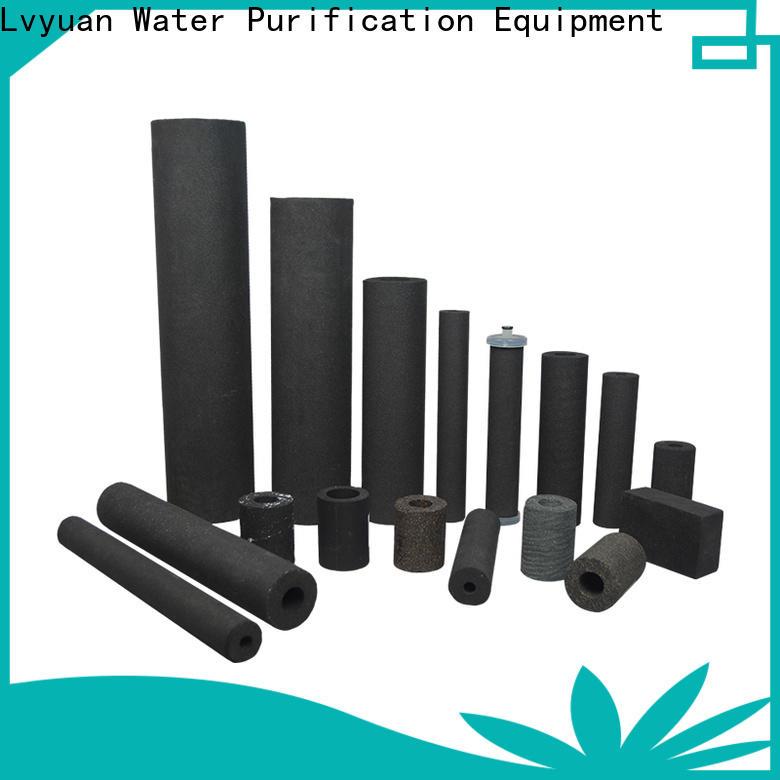 Lvyuan titanium sintered metal filter manufacturer for food and beverage