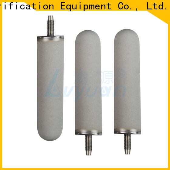 professional sintered powder metal filter rod for sea water desalination
