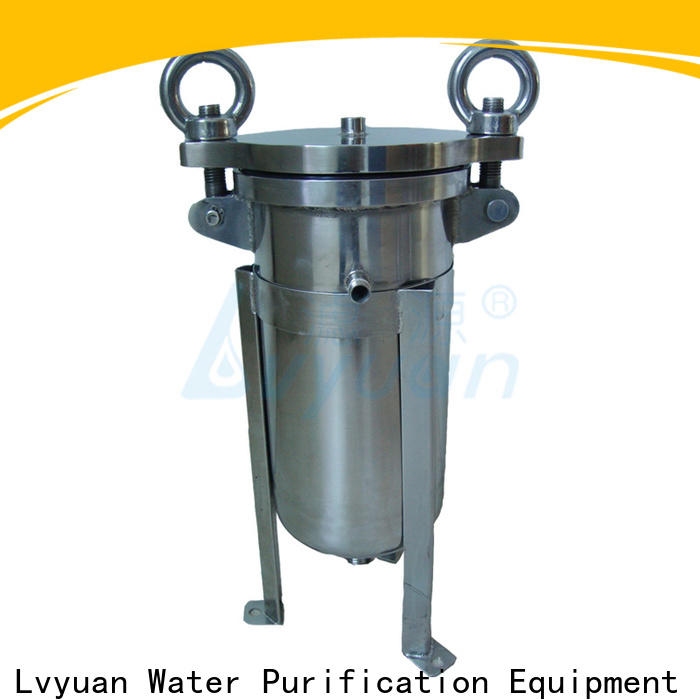 Lvyuan efficient stainless steel filter housing manufacturers rod for oil fuel