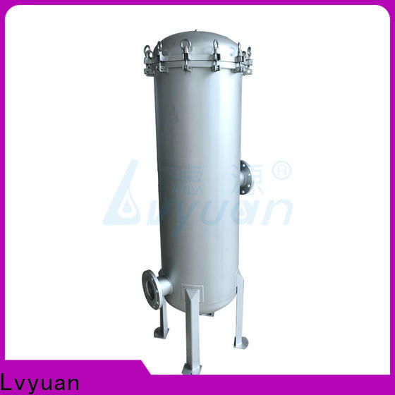 Lvyuan stainless steel filter housing with core for industry