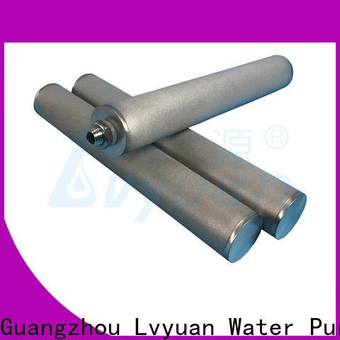 Lvyuan sintered powder ss filter supplier for industry