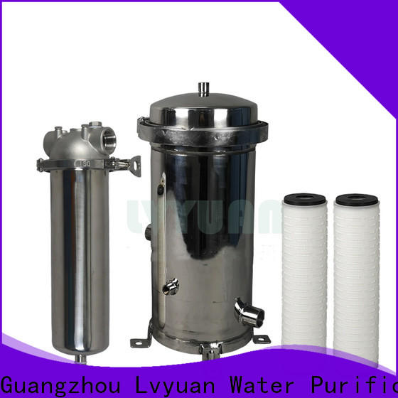 stainless steel filter water cartridge supplier for sea water desalination
