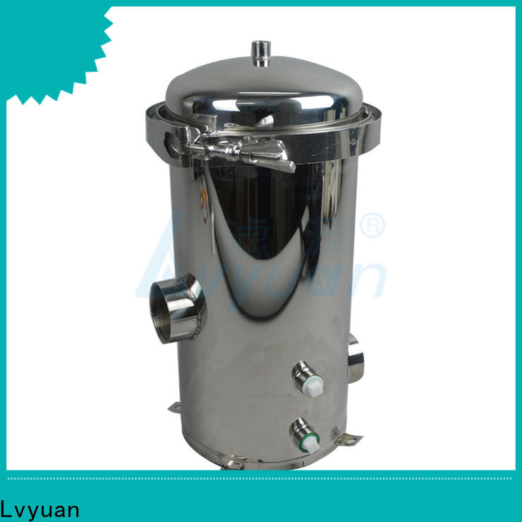 Lvyuan stainless water filter housing rod for industry