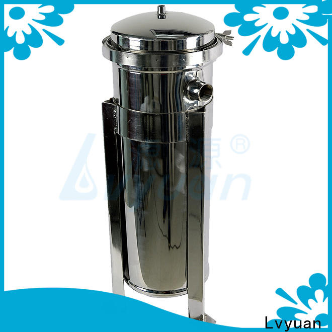 Lvyuan efficient stainless steel filter housing manufacturers rod for sea water treatment