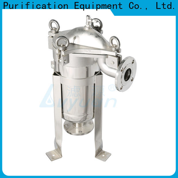 Lvyuan professional stainless steel filter housing with core for food and beverage