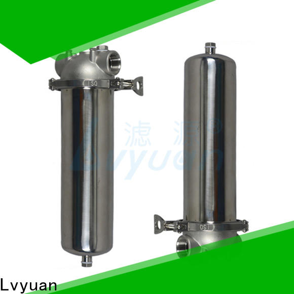 professional stainless steel water filter housing rod for oil fuel