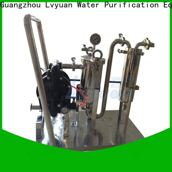 Lvyuan high end ss filter housing manufacturers rod for sea water treatment