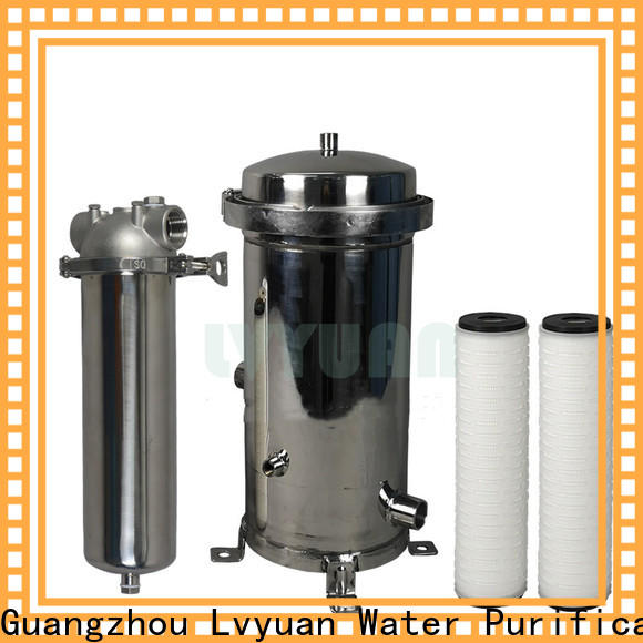 high end stainless steel filter housing manufacturers with core for food and beverage