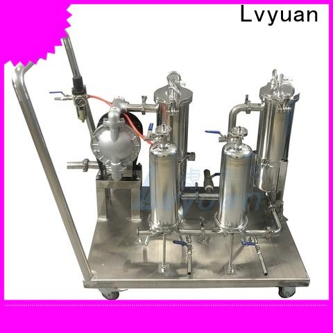 Lvyuan stainless steel filter housing manufacturer for sea water treatment