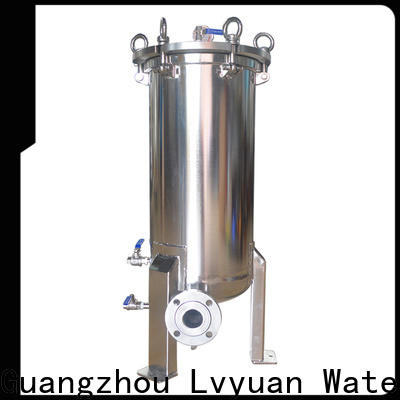 Lvyuan high end stainless steel cartridge filter housing rod for oil fuel
