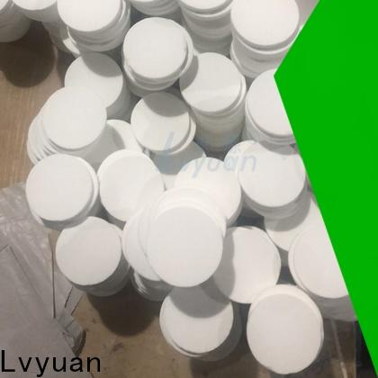 Lvyuan activated carbon sintered ss filter manufacturer for industry