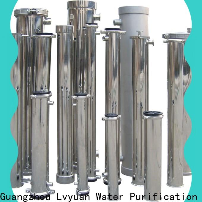 Lvyuan porous stainless steel filter housing manufacturers with core for oil fuel