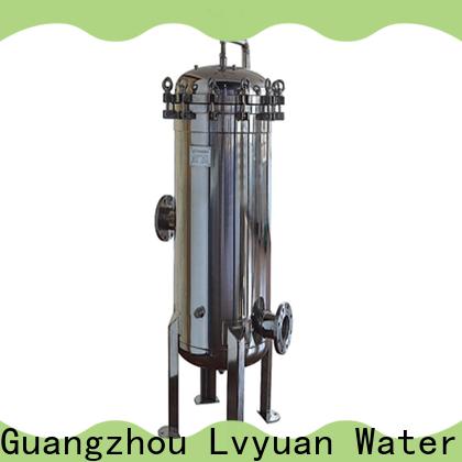 Lvyuan stainless water filter housing housing for sea water desalination