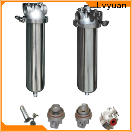 best stainless steel cartridge filter housing with core for sea water treatment
