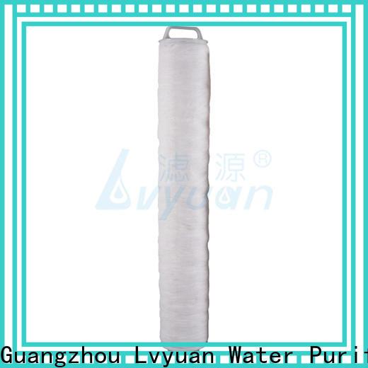 Lvyuan best high flow water filter cartridge supplier for sale