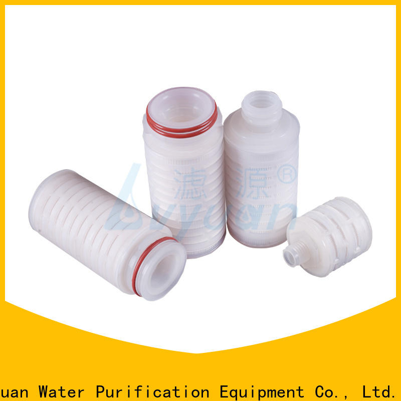 pes pleated filter manufacturers supplier for industry