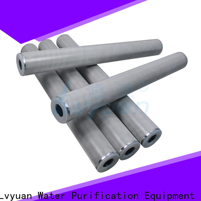 Lvyuan professional sintered filter suppliers supplier for food and beverage