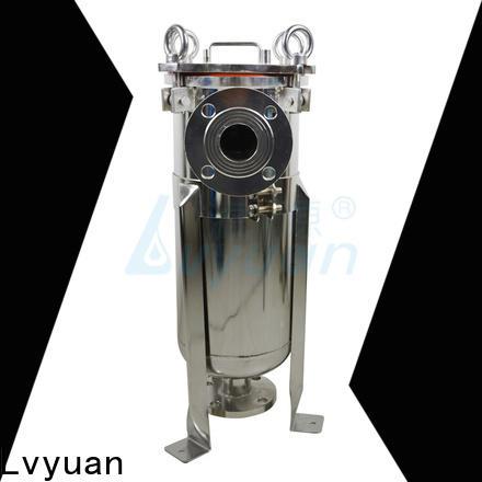 Lvyuan ss bag filter housing rod for sea water treatment