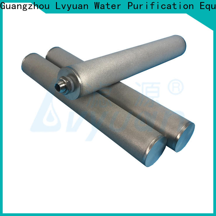 Lvyuan sintered metal filter manufacturer for food and beverage
