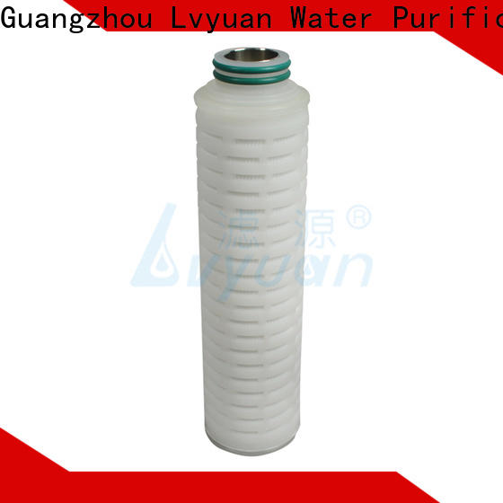 Lvyuan membrane pleated filter cartridge supplier for industry