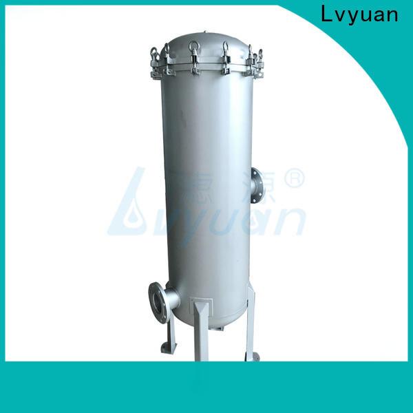 Lvyuan ss cartridge filter housing housing for sea water desalination