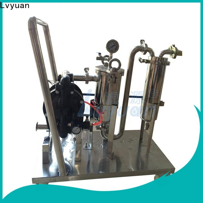 Lvyuan efficient stainless steel filter housing with core for sea water desalination