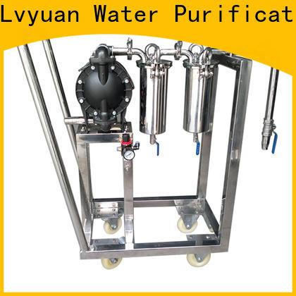 Lvyuan professional ss filter housing manufacturers housing for sea water desalination