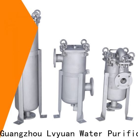 Lvyuan ss bag filter housing rod for sea water treatment