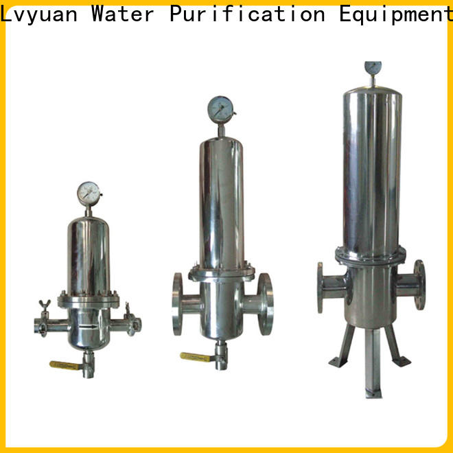 Lvyuan stainless steel filter housing housing for industry