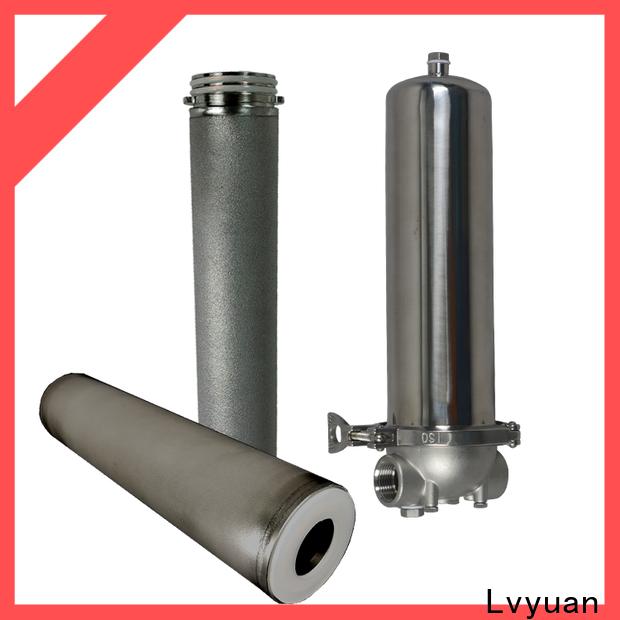 Lvyuan ss filter housing manufacturers housing for oil fuel