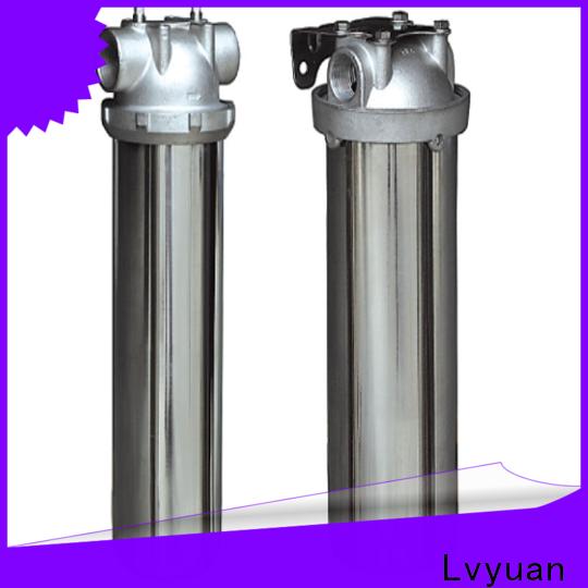 Lvyuan best stainless steel bag filter housing manufacturer for oil fuel