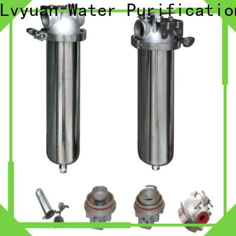 Lvyuan best stainless steel water filter housing with core for sea water treatment