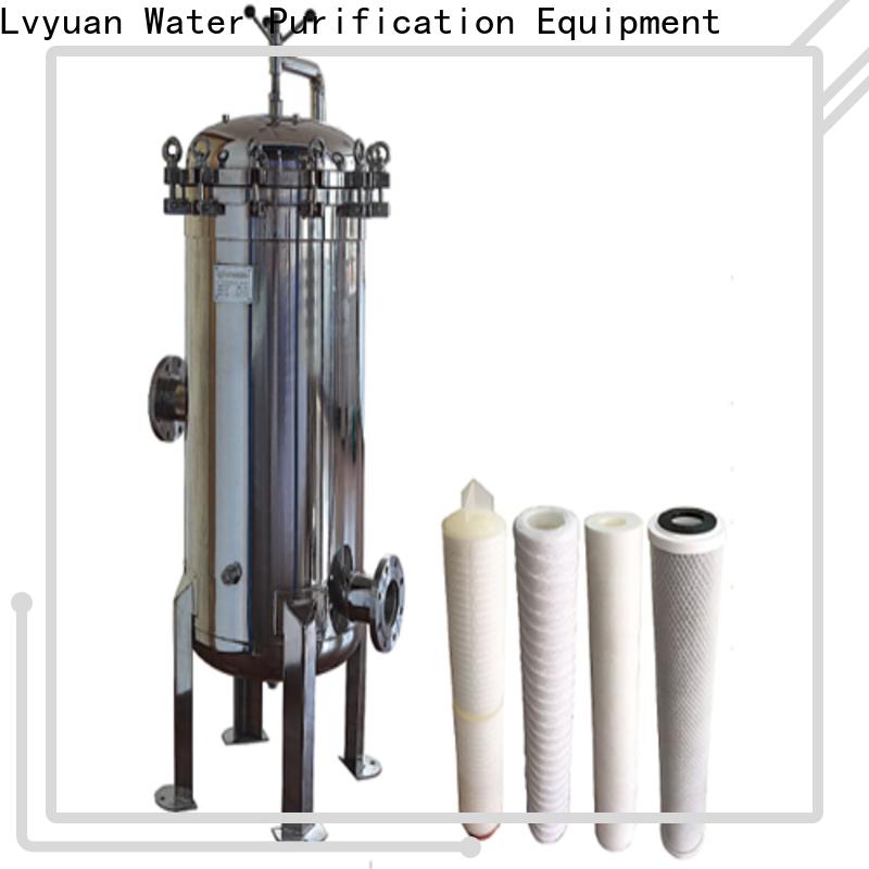 Lvyuan stainless steel filter housing manufacturers manufacturer for sea water desalination