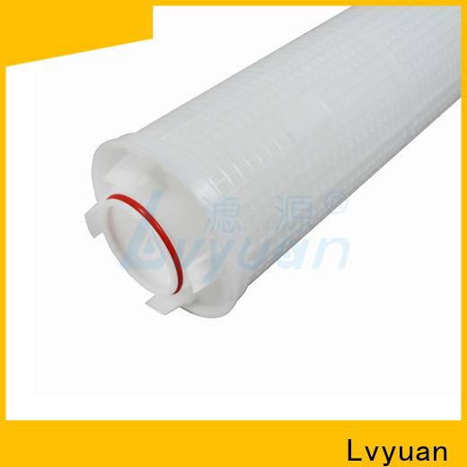 Lvyuan high flow filters park for sea water desalination