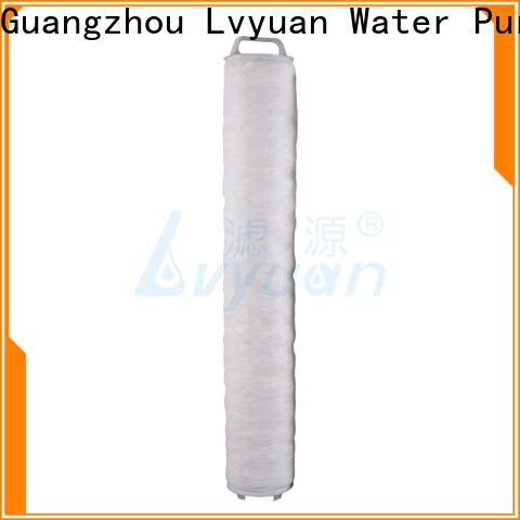 Lvyuan safe high flow water filter cartridge supplier for industry