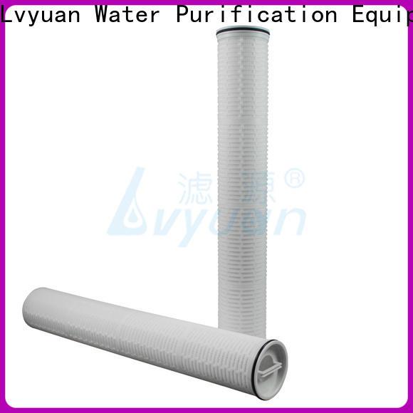 efficient high flow water filter replacement cartridge manufacturer for sea water desalination