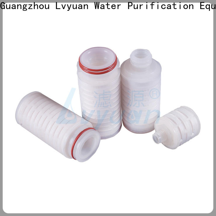Lvyuan pleated water filters manufacturer for industry