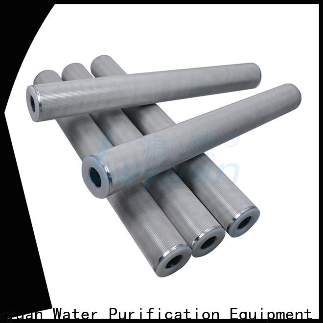 Lvyuan sintered powder ss filter manufacturer for sea water desalination