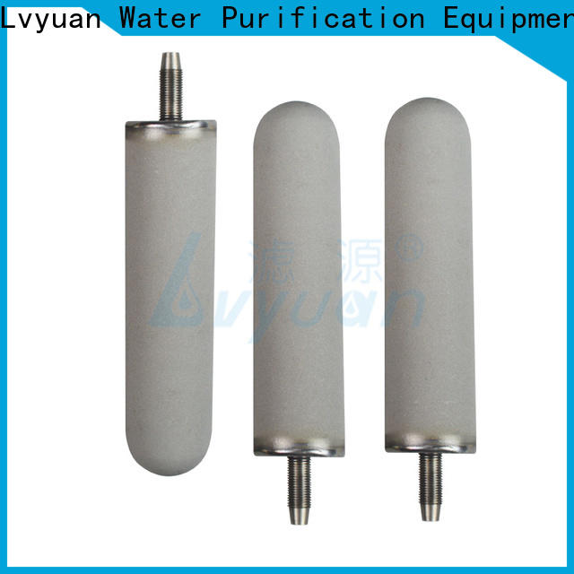 activated carbon sintered filter cartridge rod for industry