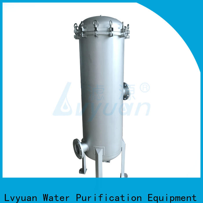 high end ss cartridge filter housing rod for sea water treatment