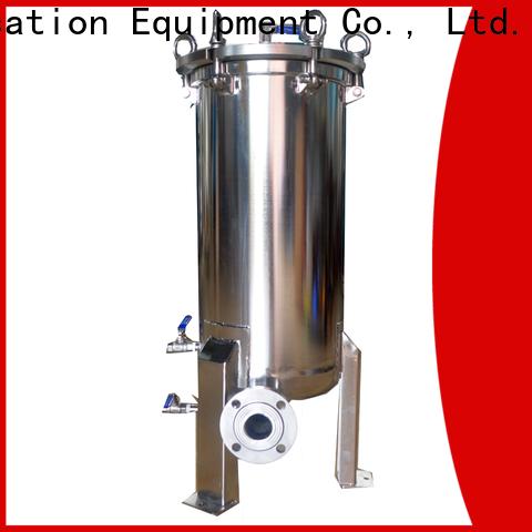 Lvyuan porous stainless steel bag filter housing manufacturer for sea water desalination