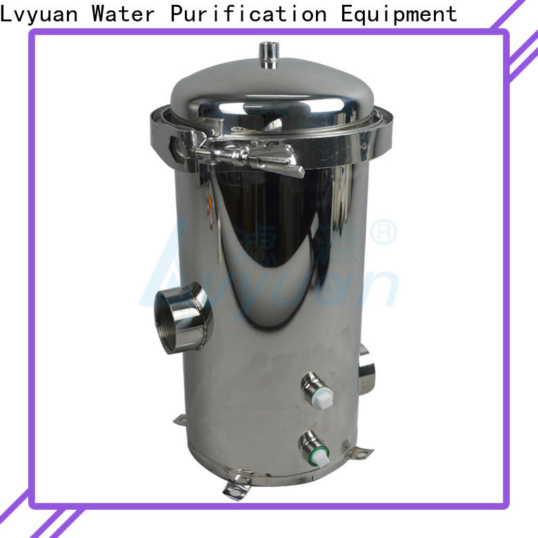 titanium stainless water filter housing rod for sea water desalination