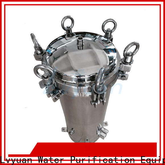 best stainless steel bag filter housing with fin end cap for oil fuel
