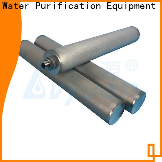 Lvyuan block sintered filter cartridge supplier for industry