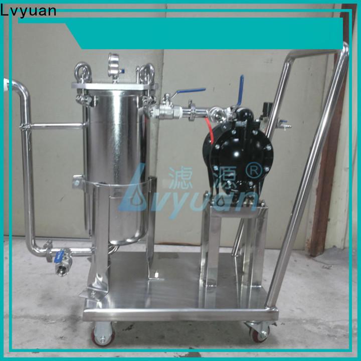 Lvyuan stainless steel water filter cartridge supplier for sea water desalination