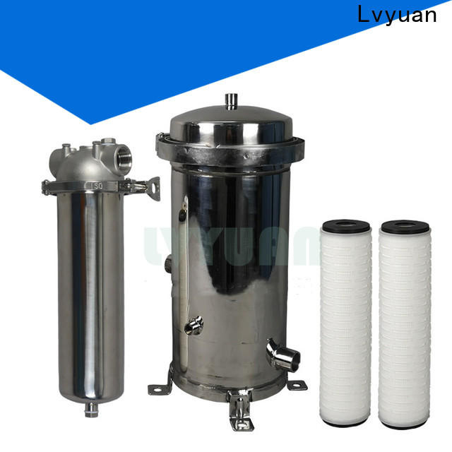 Lvyuan efficient stainless filter housing with core for industry