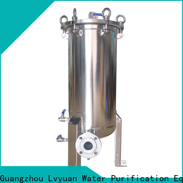 best stainless filter housing with fin end cap for oil fuel