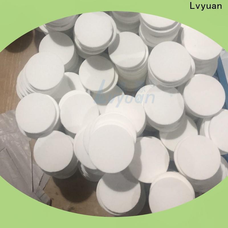 Lvyuan professional sintered metal filter rod for industry