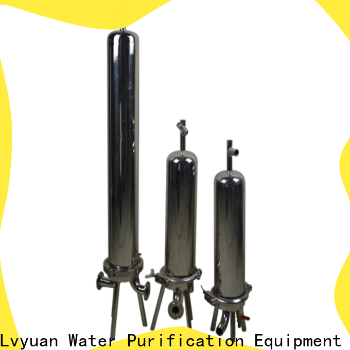efficient stainless filter housing with core for industry