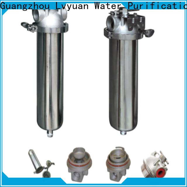 Lvyuan high end stainless steel bag filter housing housing for sea water desalination